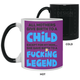 Fcking Legend Mug - Gag Holiday Gift For Mom From Son And Daughter - Happy Father's Day 2020