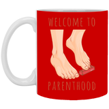 Welcome to parenthood Christmas Mug - Happy Father's Day 2020