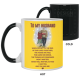 To My Husband Mug - Happy Father's Day 2020