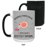 Merry Christmas from Your Fastest Sperm - Funny Mug For Dad & Mom - christmas 2019