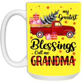 My Greatest Blessings Call Me Grandma Mug - Not The Worst Gift