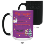 Unique Christmas Gift Ideas - To My Daughter Mug - christmas 2019