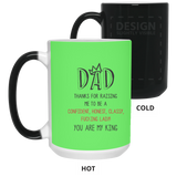 Cool Christmas Ideas For King Dad - Thank For Raising Me - Happy Father's Day 2020