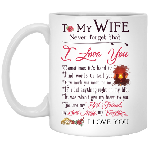 To my wife Mug - christmas 2019