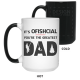 Ofishcial dad Mug - Happy Father's Day 2020