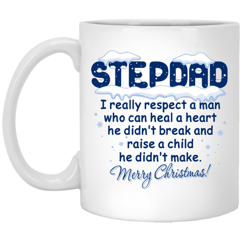 Heal The Heart - Christmas Gifts For Stepdad Mug - Happy Father's Day 2020