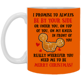 By Your Side Mug - Funny Couples Stuff - Happy Father's Day 2020