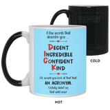 Acronym to describe Mug - Happy Father's Day 2020