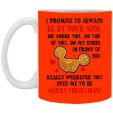 By Your Side Mug - Funny Couples Stuff - christmas 2019