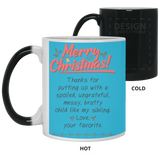 Merry Christmas Parents Mug - christmas 2019