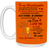 To my granddaughter Mug - Happy Father's Day 2020