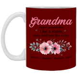 2019 Christmas Present for Grandmas Dictionary Mug - Happy Father's Day 2020