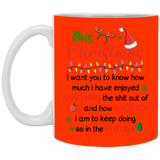 This Christmas I Want You To Know Mug - Happy Father's Day 2020
