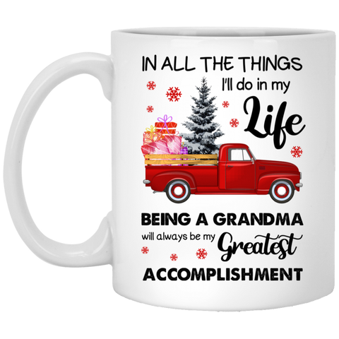 Meaningful Christmas Gifts Idea For Grandmas - Being Greatest Grandma - Not The Worst Gift