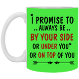 Be By Your Side Couples Mug - christmas 2019