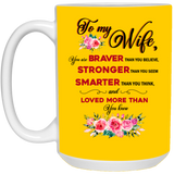 Mug For Wife - Not The Worst Gift