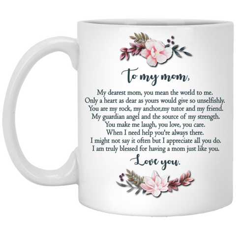 Dear mom Mug - Happy Father's Day 2020