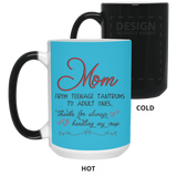 Mom From Teenage Tantrums Mug - Happy Father's Day 2020