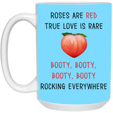 Roses Red, True Love Is Rare. Booty Rocking Everywhere. - Happy Father's Day 2020