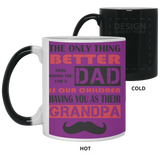 Dad Becomes Grandpa Mug - Happy Father's Day 2020