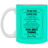 Dear My Son Mug - Happy Father's Day 2020