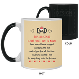 Dad Shit Out Of You Mug - This Christmas Want You Know - Happy Father's Day 2020