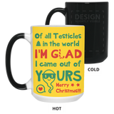 Of All Testicles In The World 1 Mug - Funny Christmas Gift For Humor Dad - christmas 2019