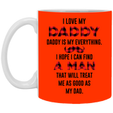 I love you daddy - lady gaga Mug - Not The Worst Gift
