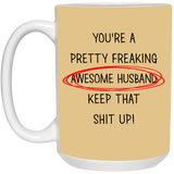Best Valentines Gifts For Awesome Husband  Mug - christmas 2019