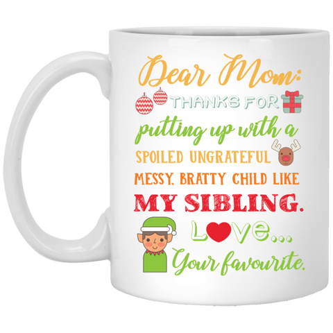 Spoiled Sibling Mug - Happy Father's Day 2020
