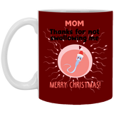 Thanks For Not Swallowing Mug - Cute Sperm Xmas Gift Ideas For Mommy - Happy Father's Day 2020