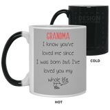 Unique Christmas Gift Ideas For Grandmothers - Love Grandma Whole Life Mug - Happy Father's Day 2020