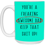 Best Christmas Gift For Awesome Dad - Special From Daughter and Son - christmas 2019