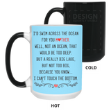 Mother Across The Ocean Mug - Meaningful Idea For The Best Mom - Happy Father's Day 2020
