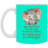 Lovely Christmas Gift Ideas For Daughter - You Are Loved Mug - Happy Father's Day 2020