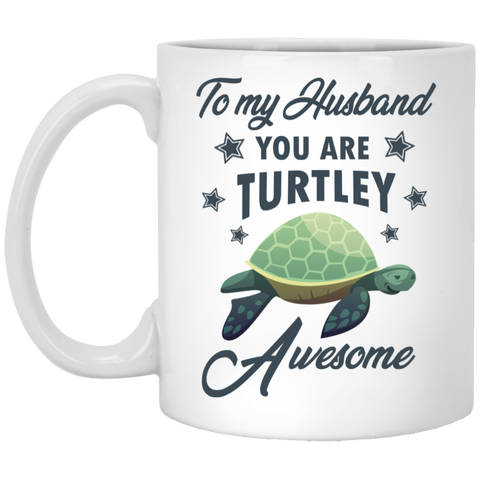 Husband Turtley Awesome Mug - Happy Father's Day 2020