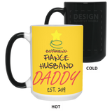 Husband daddy est.2019 Mug - Not The Worst Gift