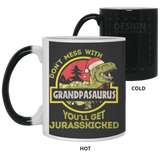 Grandpasaurus Christmas Gifts For Grandpa Mug - Happy Father's Day 2020