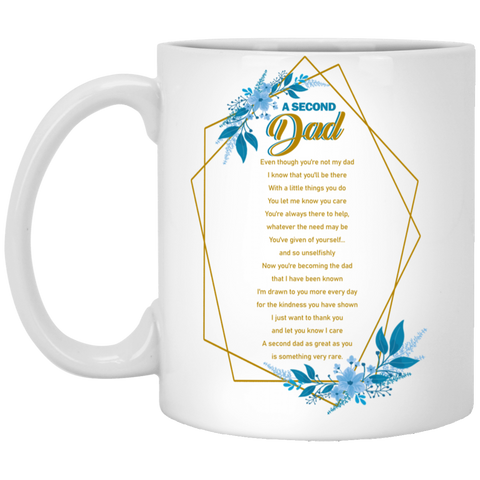 A Second Dad Mug - Happy Father's Day 2020