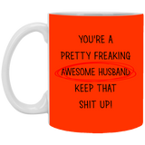 Best Valentines Gifts For Awesome Husband  Mug - Happy Father's Day 2020