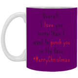 Love you more than punch you in the face Mug - Happy Father's Day 2020