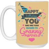 One Year Closer Mug - christmas 2019