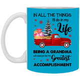 Meaningful Christmas Gifts Idea For Grandmas - Being Greatest Grandma - Happy Father's Day 2020