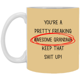 Best Christmas Gifts For Awesome Grandma  Mug - christmas 2019