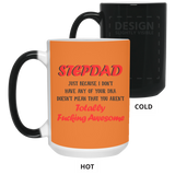 Stepdad Totally Awesome - Novelty Coffee Mug for Stepdad - Happy Father's Day 2020