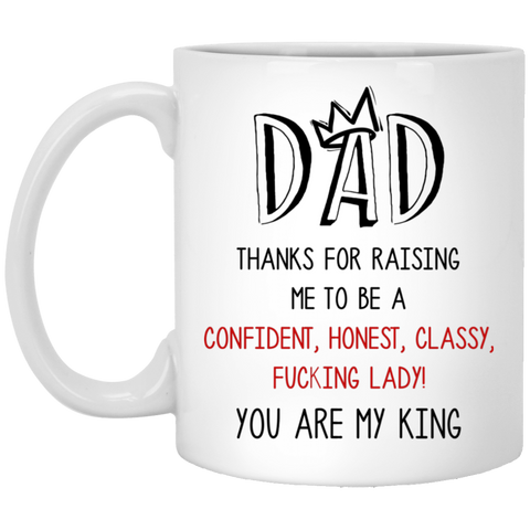 Cool Christmas Ideas For King Dad - Thank For Raising Me - christmas 2019