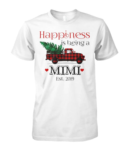 Happiness Is Being A Mimi Shirt - christmas 2019