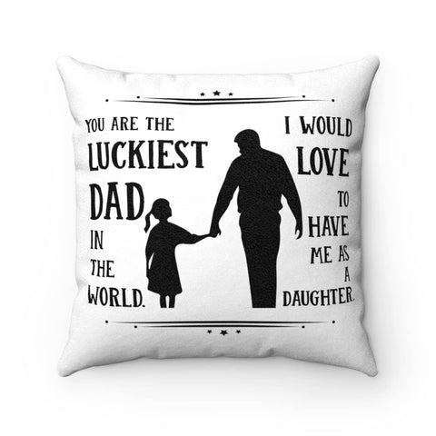 Gift For Dad Pillow Case - Happy Father's Day 2020