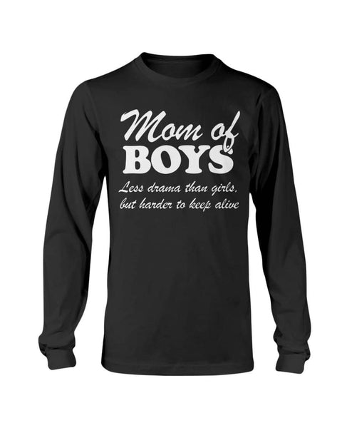 Mom Of Boys Shirt - christmas 2019
