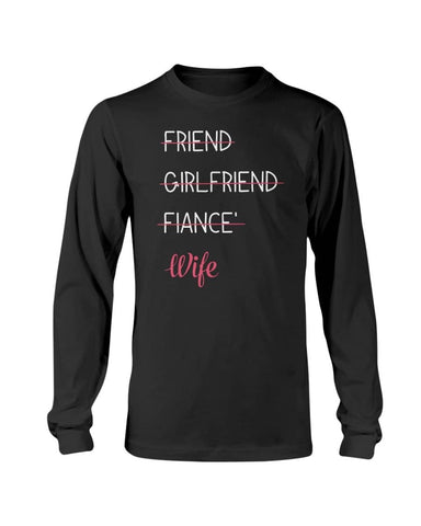 Friend Becomes Wife Shirt - christmas 2019